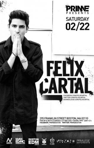 Felix Cartal @ PRIME