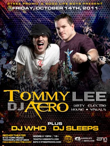 Tommy Lee & DJ Aero @ Recher Theatre