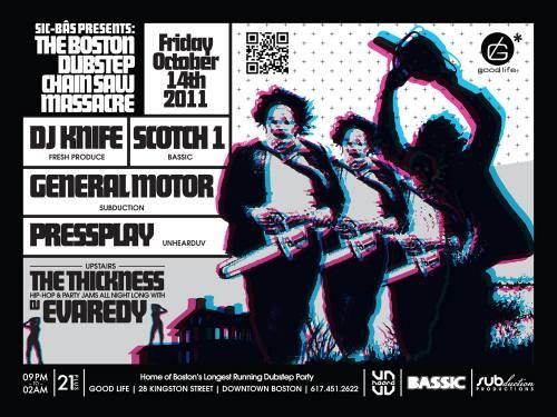SIC BÅS Presents The Boston Dubstep Chainsaw Massacre