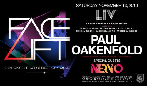 Paul Oakenfold @ LIV