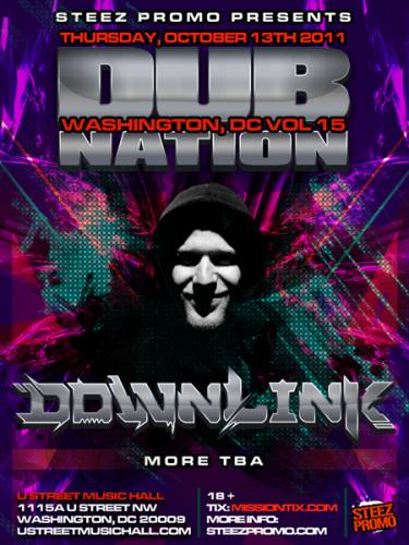DUB NATION DC VOLUME 15 FEATURING DOWNLINK
