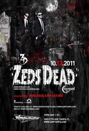 Zeds Dead @ Amphitheatre