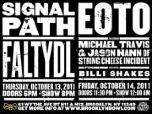 Signal Path FaltyDL -> EOTO - Two HUGE Nights @ Brooklyn Bowl [10.13-10.14]