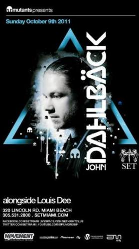 John Dahlback @ SET