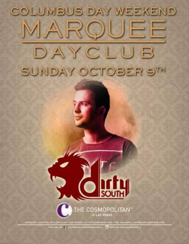 Dirty South at Marquee Dayclub