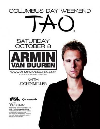 Armin van Buuren @ Tao