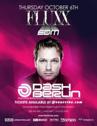 Dash Berlin @ FLUXX