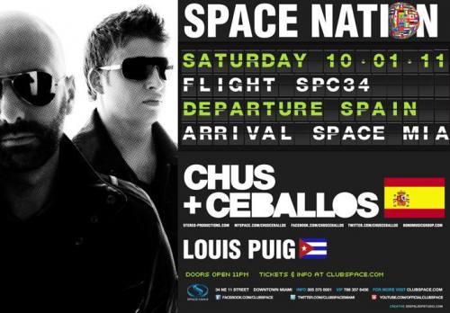 Chus & Ceballos @ Space (10/1)
