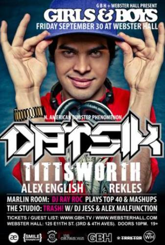 Datsik @ Webster Hall