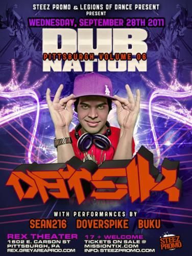 DUB NATION PITTSBURGH VOL. 6 FEATURING DATSIK
