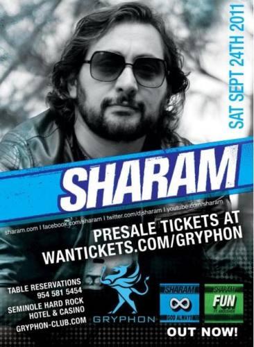 Sharam @ Gryphon
