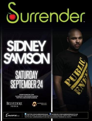 Sidney Samson @ Surrender (9/24)