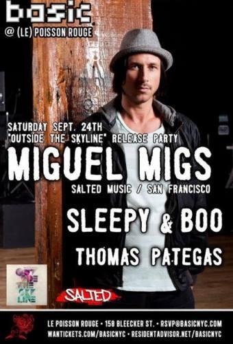 Miguel Migs @ Le Poisson Rouge