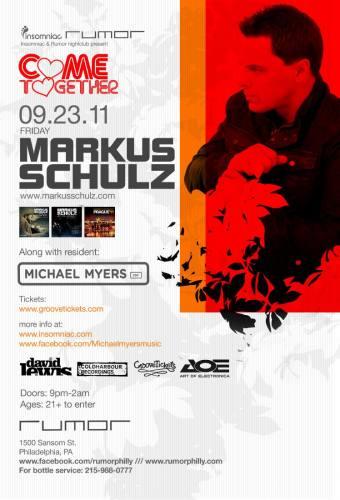 Markus Schulz @ Rumor