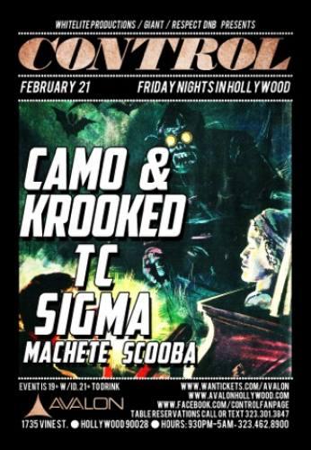 Camo & Krooked @ Avalon Hollywood