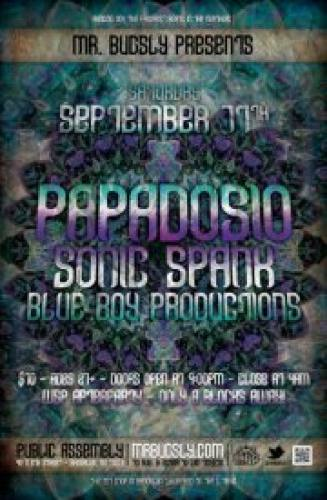 Papadosio w/ Sonic Spank & Blue Boy Productions @ Public Assembly [9.17.11]
