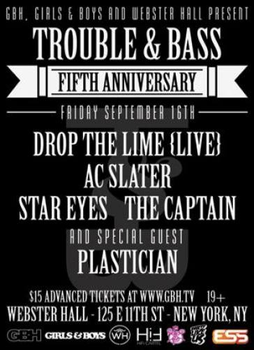 TROUBLE & BASS 5 YEAR ANNIVERSARY PARTY