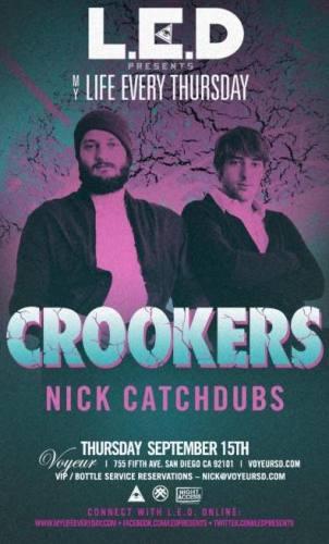 Crookers @ Voyeur (9/15)