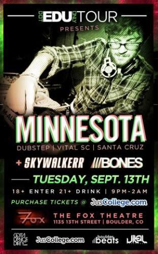 Minnesota @ Fox Theatre - Boulder