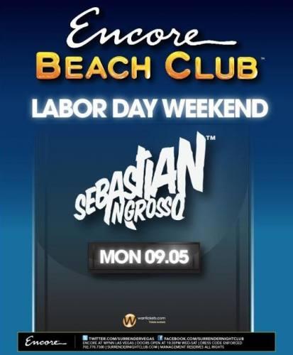Sebastian Ingrosso @ Encore Beach Club