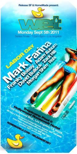 Wet Pool Party w/ Mark Farina