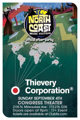 9.4 Thievery Corporation at The Congress Theater
