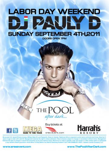 09.04.2011 : Labor Day Weekend with DJ Pauly D