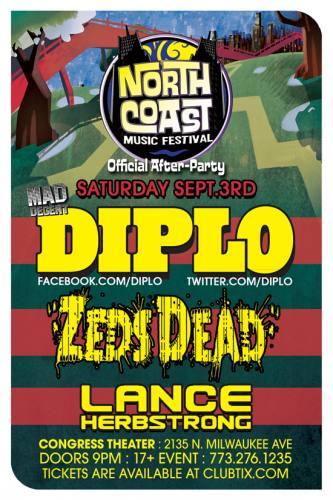 NCMF AFTER: DIPLO - ZEDS DEAD