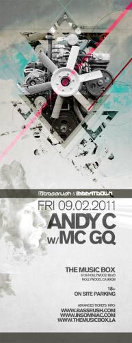 Andy C w/ MC GQ @ The Music Box