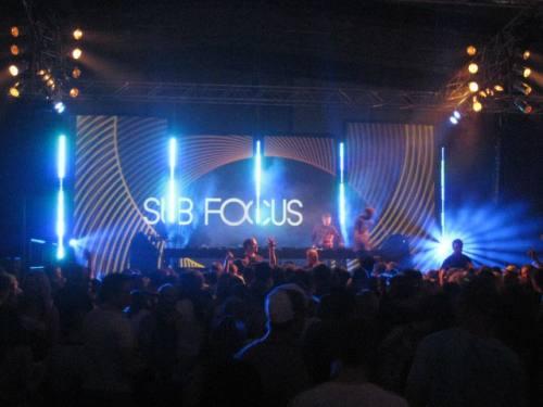 Sub Focus & more @ The QUAD