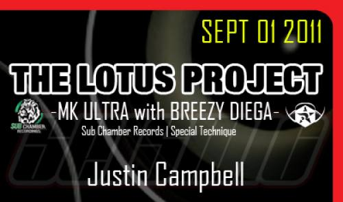 SEISMIC dubstep w/ THE LOTUS PROJECT [MK ULTRA & BREEZY DIEGA] | JUSTIN CAMPBELL