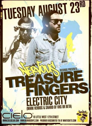Treasure Fingers @ Cielo