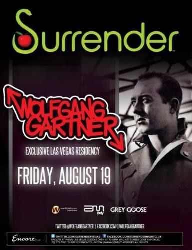 Surrender Your Friday with Wolfgang Gartner