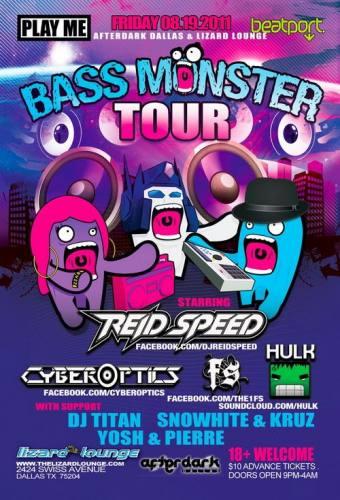 Play Me Bass Monster Tour