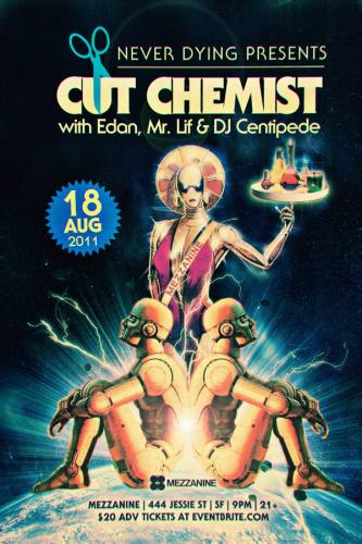 Cut Chemist, Edan, & Mr. Lif