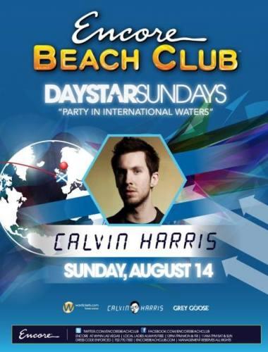 Calvin Harris @ Encore Beach Club (8/14)