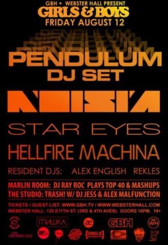 Pendulum (DJ) @ Webster Hall