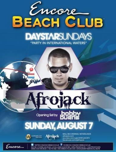 Afrojack @ Encore Beach Club (8/7)