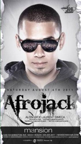 Afrojack @ Mansion (8/6)