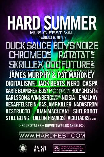 Hard Summer Music Festival 2011