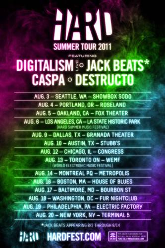HARD Summer Tour @ Roseland Theater