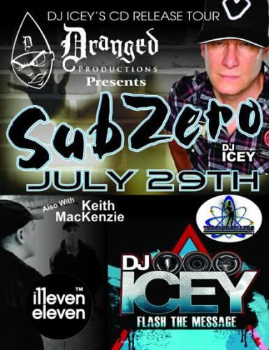 SUBZERO W/ DJ ICEY & KEITH MACKENZIE @ The Works