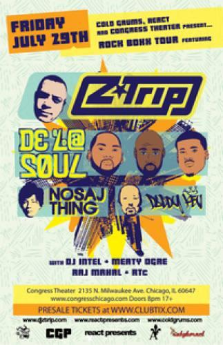 Z-Trip, De La Soul at The Congress Theater Chicago