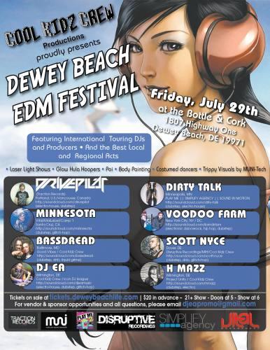 Dewey Beach EDM Festival