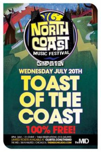 7.20 Toast Of The Coast Competition at The Mid