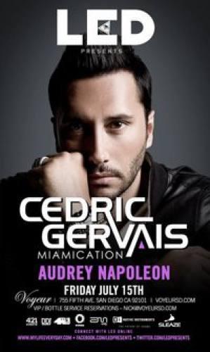 Cedric Gervais @ Voyeur (7/15)