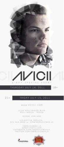 Avicii @ The Music Box (7/15)