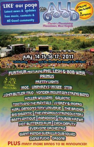 15th Annual All Good Music Festival