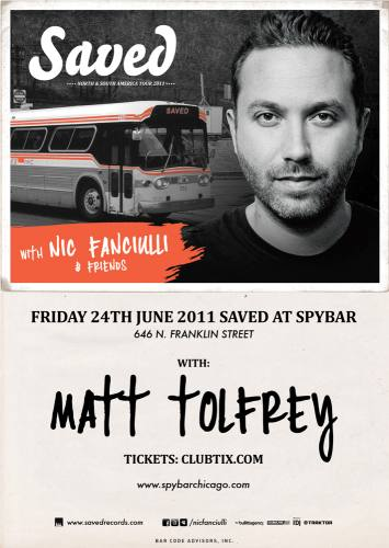 NIC FANCIULLI & MATT TOLFREY @ Spy Bar