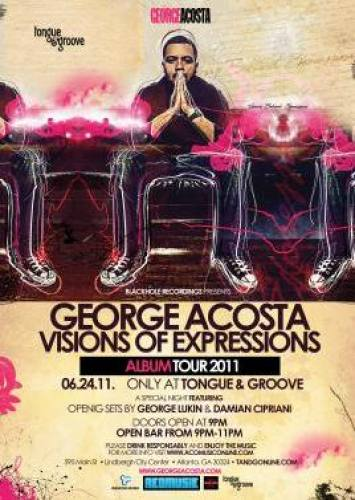 George Acosta @ Tongue & Groove